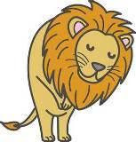お願いライオン.jpg